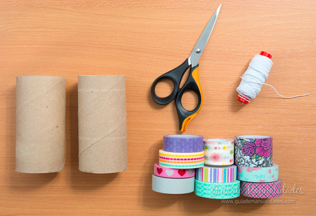 Coronitas tubos de cartón 2