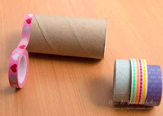 Coronitas tubos de cartón 3
