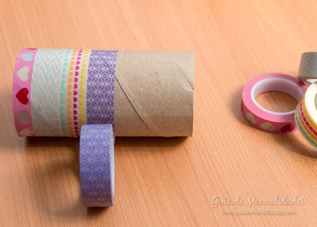 Coronitas tubos de cartón 4