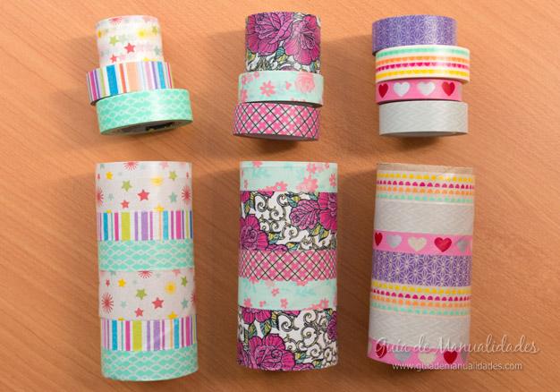 Coronitas tubos de cartón 5
