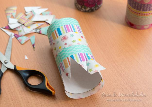 Coronitas tubos de cartón 6