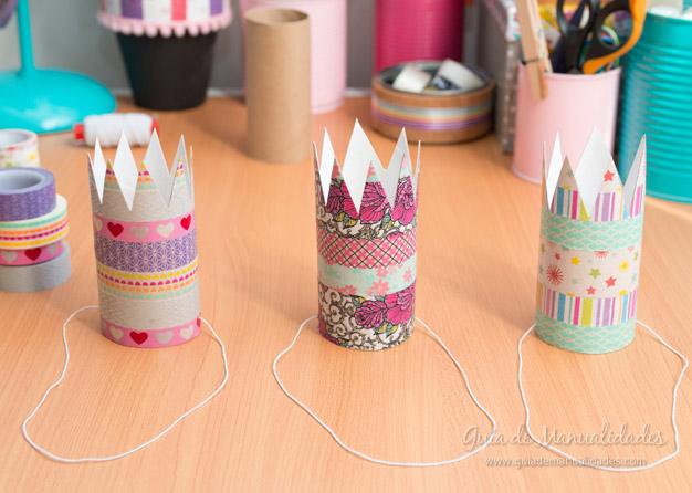 Coronitas tubos de cartón 8