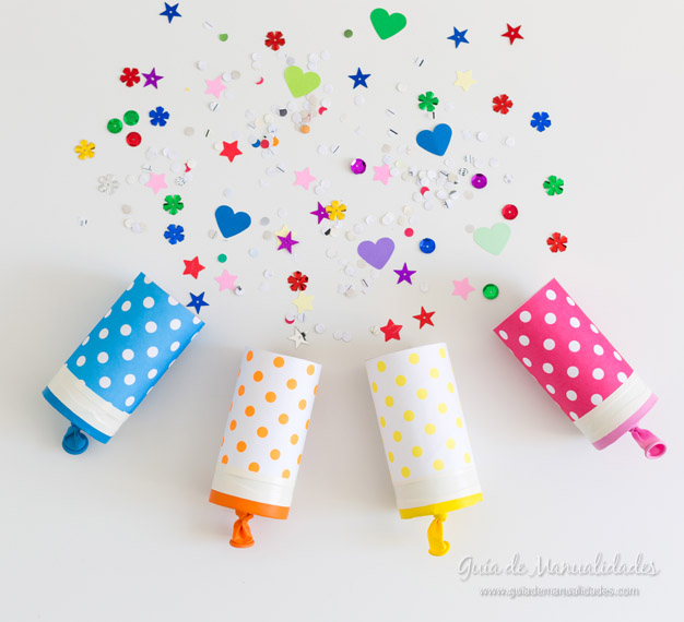 Lanza papel DIY 1