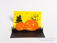 imagen Tarjeta terrorífica para Halloween