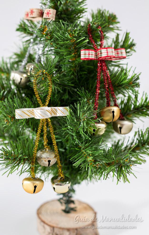 Adornos con cascabeles para el rbol de navidad gu a de - Adornos para el arbol de navidad ...