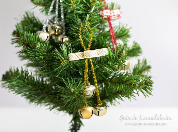 Adorno navidad cascabeles 12