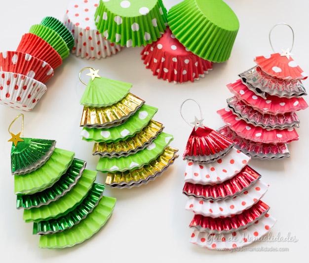 Adorno navidad moldes cupcakes 1