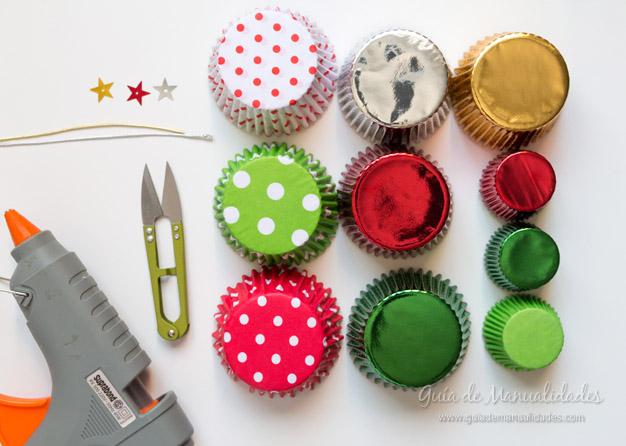 Adorno navidad moldes cupcakes 2