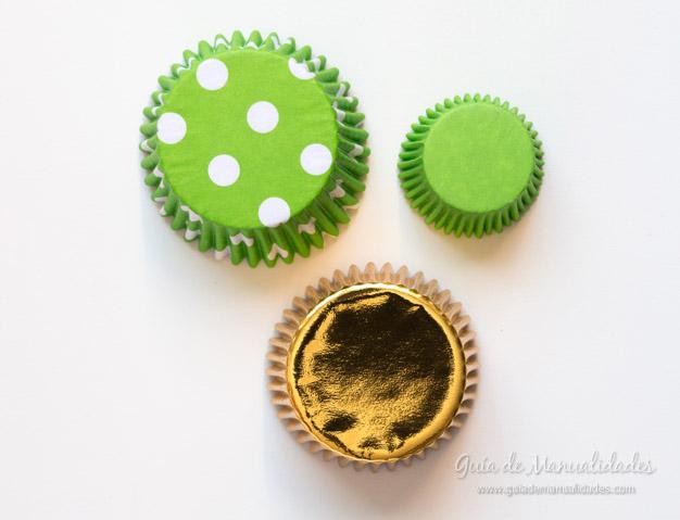 adorno navidad moldes cupcakes