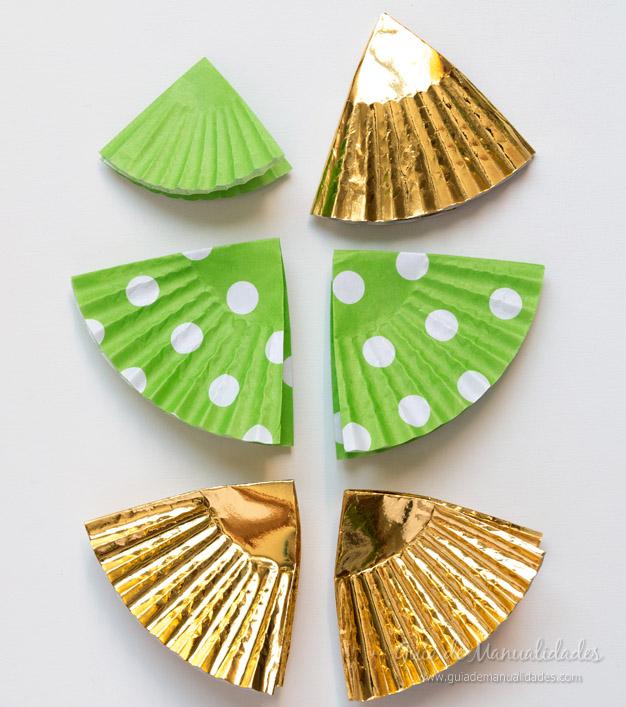 Adorno navidad moldes cupcakes 5