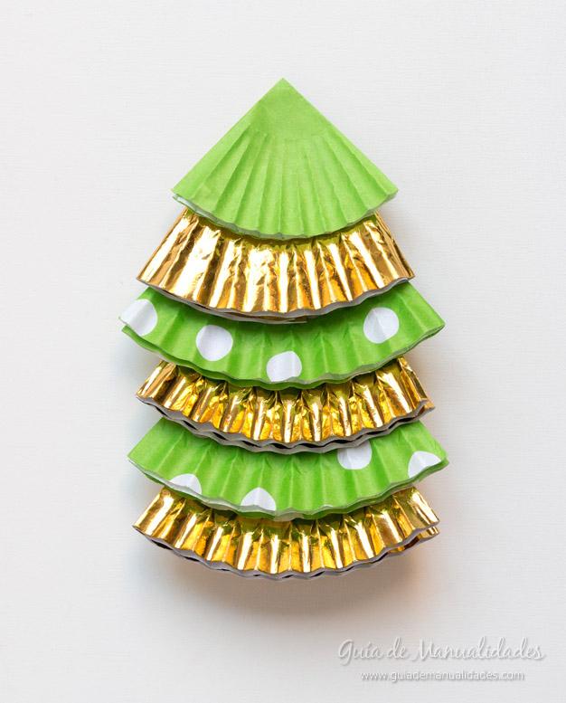 Adorno navidad moldes cupcakes 7