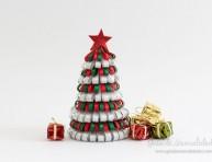 imagen Arbolito navideño con cintas
