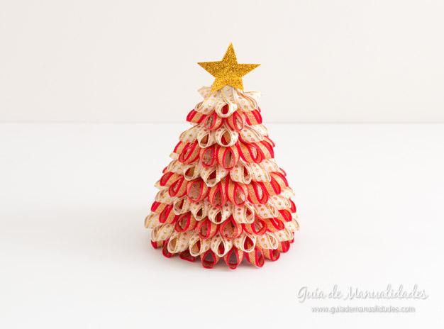 Cintas arbol navidad rbol de navidad con cintas rbol de for Cintas de navidad