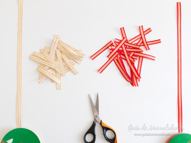 Árbol de navidad con cintas 6