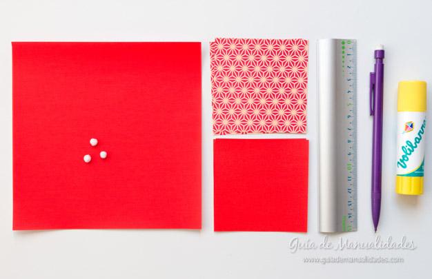 Papá Noel origami 2