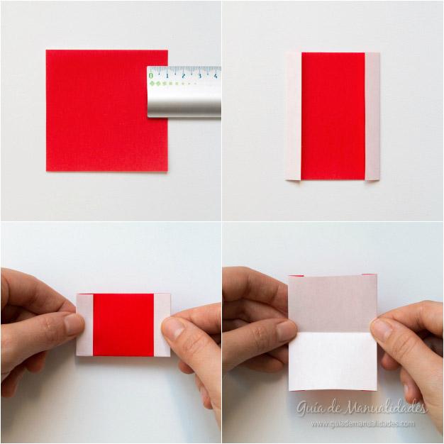 Papá Noel origami 7