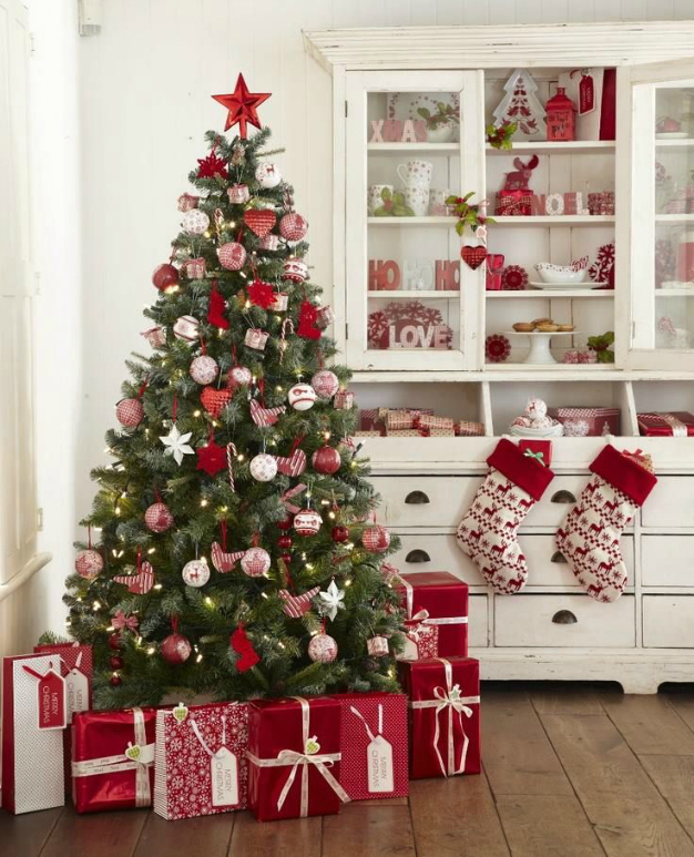 13 ideas para un rbol de navidad distinto gu a de manualidades - Como decorar mi arbol de navidad ...