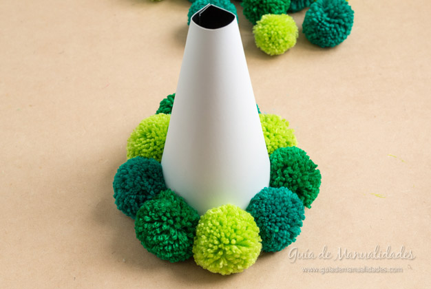 Árbol de pompones 10