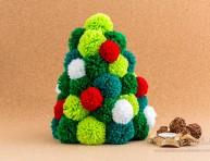 imagen Árbol de Navidad de pompones