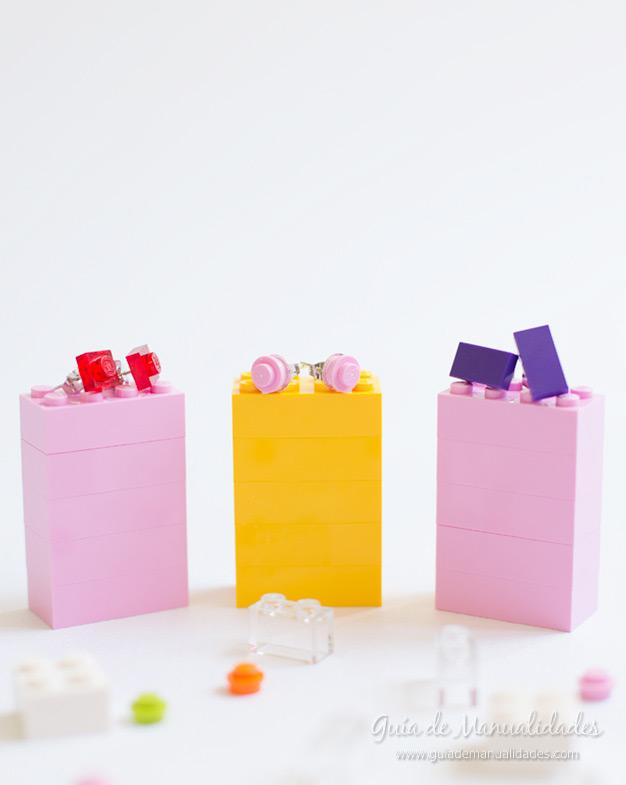 Aros con piezas lego 1