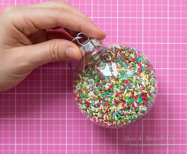 Bolas de navidad DIY 12