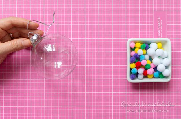 Bolas de navidad DIY 2