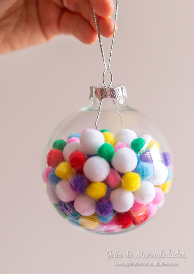Bolas de navidad DIY 4