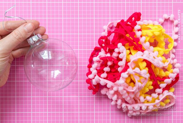 Bolas de navidad DIY 8