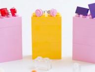 imagen Aretes con piezas de Lego