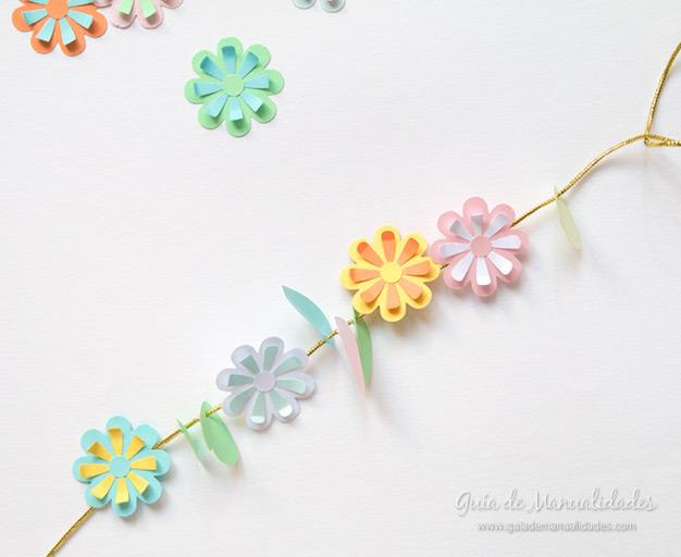 Envoltorio guirnalda de flores 11