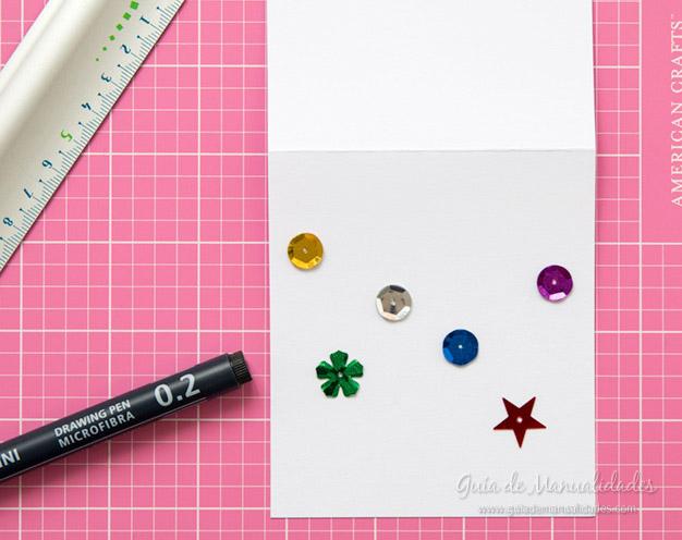 Tarjeta y etiqueta navideña 4