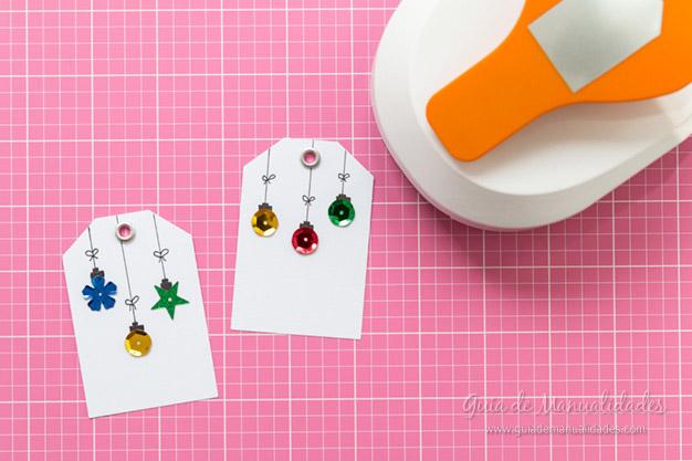 Tarjeta y etiqueta navideña 6