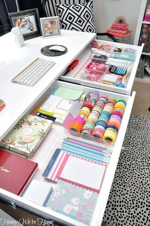 Organización escritorio 13