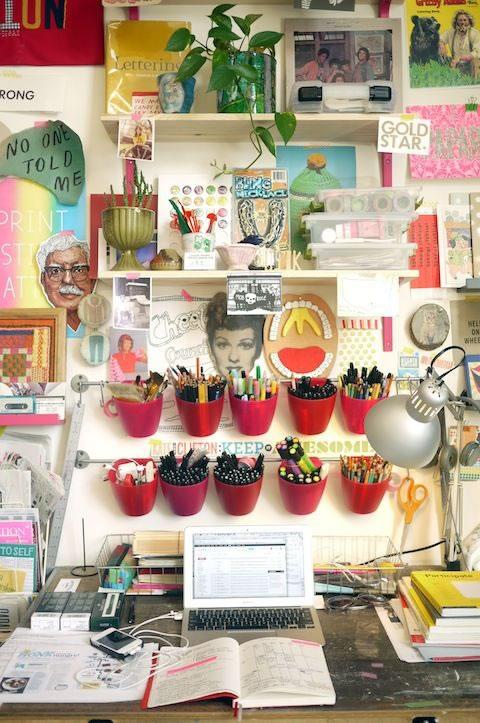 Organización escritorio 6