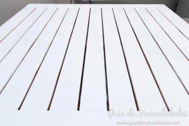 Mesa de madera decapada 9