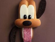 imagen Los más tiernos personajes Disney realizados con alimentos