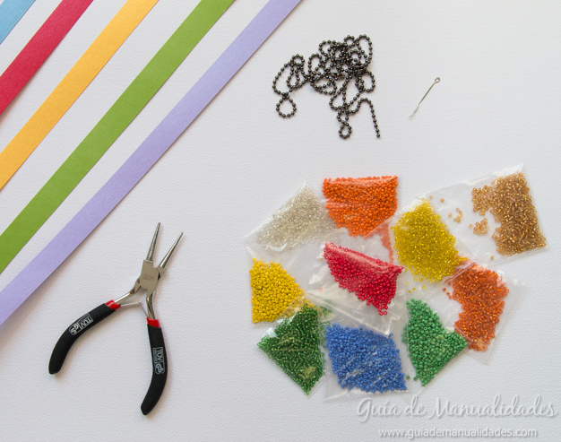 Colgante estrella origami 2