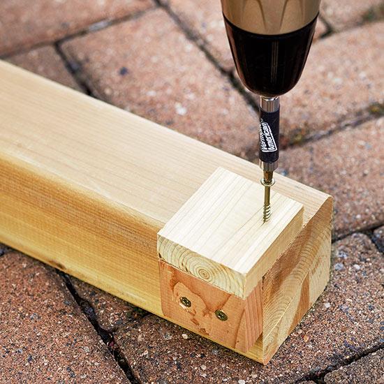 Paso a paso para hacer tu propia mesa de exterior gu a - Como hacer patas de madera para mesas ...