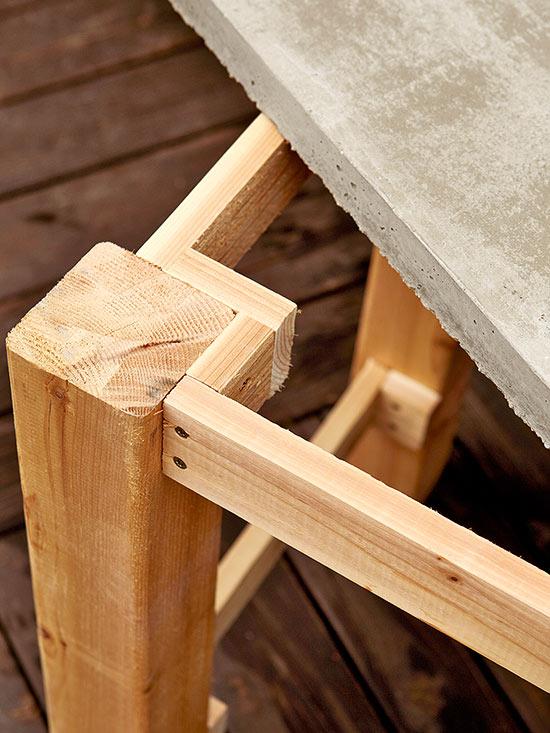 Paso a paso para hacer tu propia mesa de exterior gu a for Construir mesa de madera
