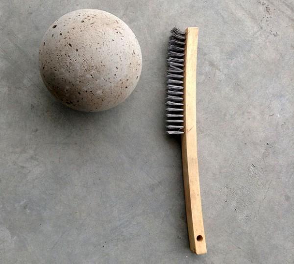 C mo hacer unas esferas de cemento para el jard n gu a - Como mezclar cemento ...