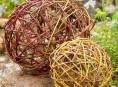 imagen Esferas de ramas DIY para decorar tu casa y el jardín
