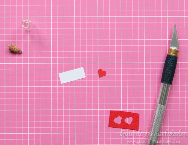 Mensaje romántico DIY 5