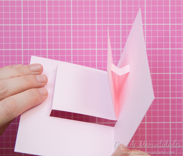 Tarjeta pop up de amor 13