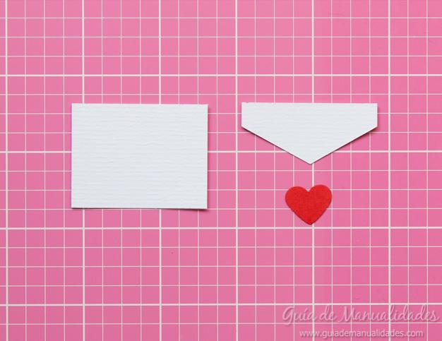 Tarjeta pop up de amor 5