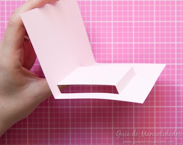 Tarjeta pop up de amor 9