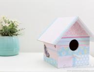 imagen Idea para decorar tu propia casita para aves