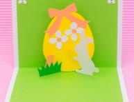 imagen Haz esta original tarjeta de Pascua