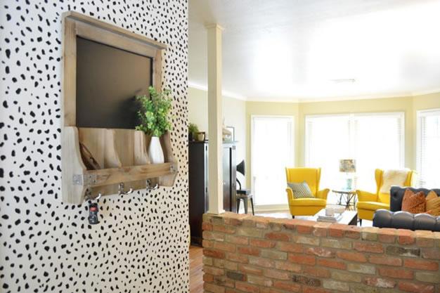 8 ideas diy para decorar paredes con stencil gu a de - Aprender a pintar paredes ...