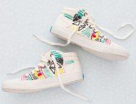 imagen Idea para bordar las zapatillas de lona