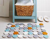 imagen Cómo hacer una alfombra rápida de fieltro